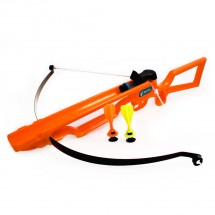 crossbow with darts orange