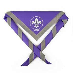 HV SCARF PURPLE